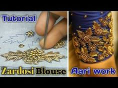 3D Creative & unique design on chudidhar Top | patchwork | hand embroidery - YouTube