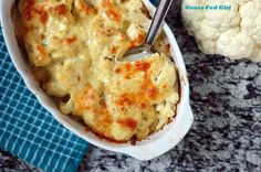 Low Carb Cauliflower Macaroni and Cheese Recipe on Yummly