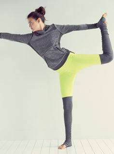 Love these ribbed leggings | Yoga gear