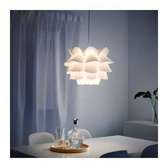 IKEA KNAPPA pendant lamp Gives a soft mood light.