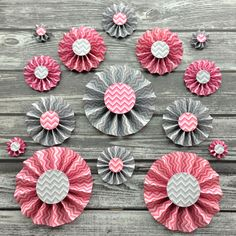 paper rosettes - Google Search