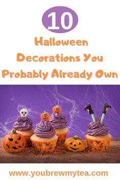 10 Halloween Decorations You Probably Already Own Halloween Decorations .Decorating for Halloween can be so much fun but, also can get pretty expensive pretty quickly. Plus, the Halloween Decorations seem to mostly be on the larger side. Halloween Word Search, Halloween Words, Halloween Cans, Cheap Halloween, Halloween Home Decor, Halloween Season, Diy Halloween Decorations, Halloween Treats, Outdoor Halloween