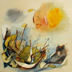 """Painting, """"Windy Dunes"""" Great shapes and colours. Dune, Saatchi Art, Original Paintings, Typography, Colours, Shapes, Canvas, Illustration, Vintage"""