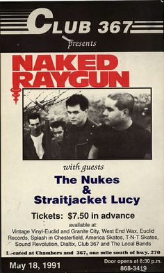 Naked Raygun and The Nukes
