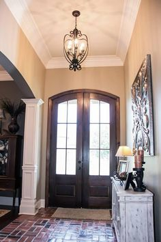Entry/Foyer of modified Melrose plan The Melrose - Madden Home ...