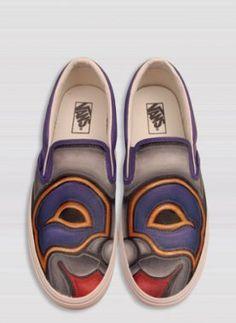 Painted Sneakers by Brush Footwear