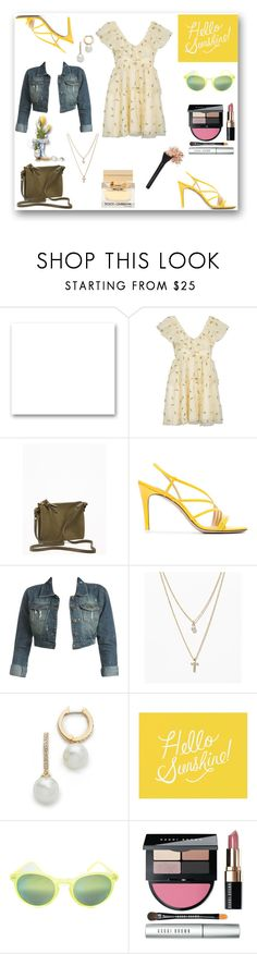 """""""Hello Sunshine!"""" by rboowybe ❤ liked on Polyvore featuring St. John, Ganni, Old Navy, Attico, Wet Seal, LOFT, Kate Spade, Pottery Barn, elevenMIAMI and Bobbi Brown Cosmetics"""