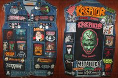 """new layout, soon will be finish my battle jacket """" THRASH OR DIE SERIES """""""