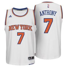 Sports Licensed Division of the adidas Group LLC New York Knicks Home  Swingman Jersey - Carmelo a921c82b2