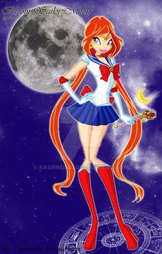 Bloom Sailor Moon by KaoriMirai.deviantart.com on @DeviantArt