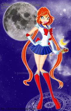 Bloom Sailor Moon by KaoriMirai.deviantart.com on @DeviantArt