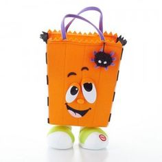 The Toe-Tappin' Trick-or-Treater is Hallmark's latest holiday interactive stuffed character for Halloween.