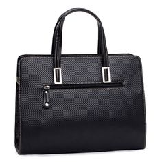 After watching so many types of men brifecase, now it is time to get our women business tote. Different from male handbag tote, female ones are more simple but special. The embossed plaid printed design is so suitable for women and the competitive low price is another advantage of this tote.