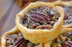 Thanksgiving Mini-Pies   Mini Chocolate Pecan Pies