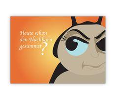 Freche Käfer Cool Karte - http://www.1agrusskarten.de/shop/freche-kafer-cool-karte/    00000_1_68, Comic, Grußkarte, Illustration, Klappkarte, Spruch, Sprüche00000_1_68, Comic, Grußkarte, Illustration, Klappkarte, Spruch, Sprüche