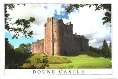 castle Doune in Scotland (that's where Monty Python and the Holy Grail was filmed! :) )