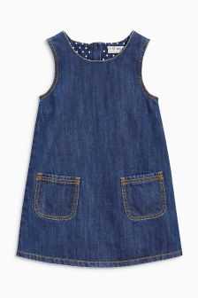 Next Denim A-Line Dress (3mths-6yrs) £10.50