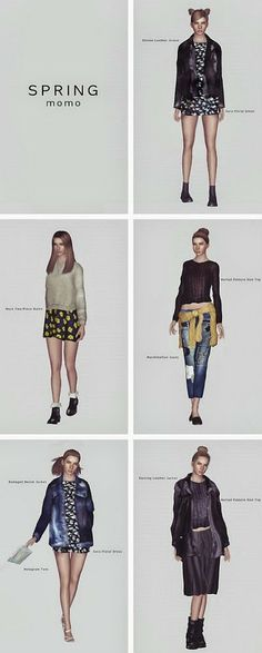 My Sims 3 Blog: Spring Collection by Momosims