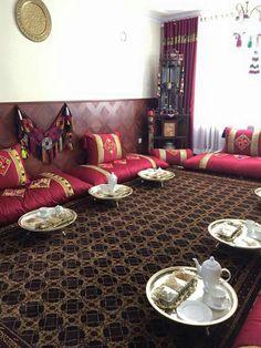 Afghan decorecion