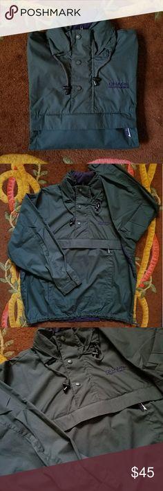7d1f686bd92a Chaps Ralph Lauren Windbreaker w  Hideaway Hood Men s Windbreaker Jacket  with Hideaway Hood and Kangaroo