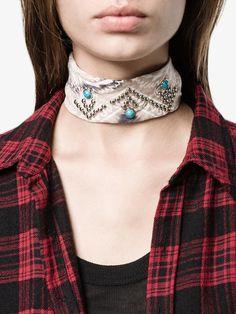 Dannijo 'Blaine' Bandana Necklace