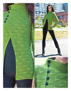 Free pattern written in english for this gorgeous cardigan…..