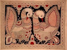 madhubani- peacock pair