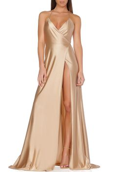 Olivia Evening Gown - Acorn