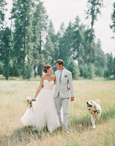 So naturally any wedding that has a gorgeous pup in it captures my heart and this beautiful mountain wedding by MONTANA WEDDING PHOTGRAPHERS JEREMIAH AND RACHEL has done that and then some! I mean come on, how cute is their adorable retriever, … Continu Dream Wedding, Wedding Day, Dogs In Wedding, Weddings With Dogs, Dog Wedding Attire, Decor Wedding, Wedding Anniversary, Perfect Wedding, Wedding Dresses