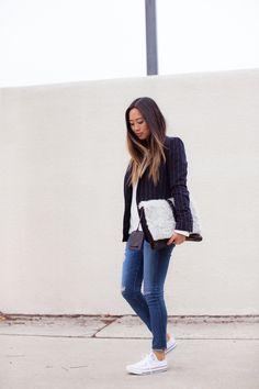 aimee_song_stripe_blazer_ag_jeans_converse_sneakers