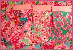Deck the halls with free Lilly Pulitzer stockings at The Pink Pelican!