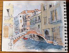 Venice Sketch ~ John Edwards