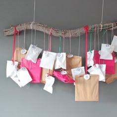 A cheap and easy alternative to the chocolate advent calendar. Make this in minutes and enjoy all month!