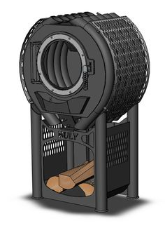 po le bois bruno mini arcade anthracite 6 5 kw wood. Black Bedroom Furniture Sets. Home Design Ideas