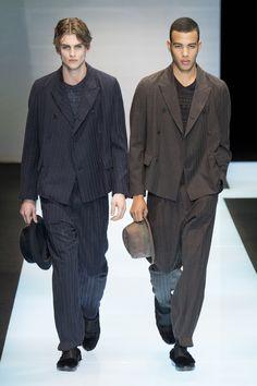ab56d620638 Défilé Giorgio Armani homme Automne-hiver 2015-2016 Men s Fashion, Mens  Fashion Week