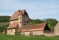 Chateau de Walbach ►► http://www.frenchchateau.net/chateaux-of-alsace/chateau-de-walbach.html?i=p