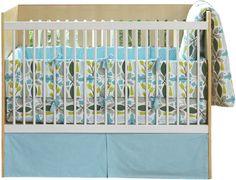 DwellStudio Motif 4 Piece Bedding Set - Kids Decorating Ideas