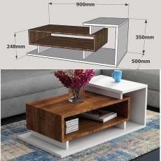 ✔Get woodworking plans that comes with step by step instructions and detailed photos. 💥Over woodworking plans With CAD/DWG software to view/edit plans High quality blueprints and schematics. Centre Table Design, Tea Table Design, Table Designs, Tv Unit Furniture, Home Furniture, Furniture Design, Centre Table Living Room, Living Room Decor, Center Table