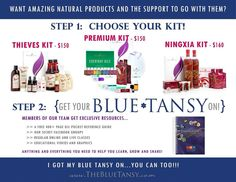 Want to join a great team, get a free book, and some life-changing oils? www.thebluetansycom