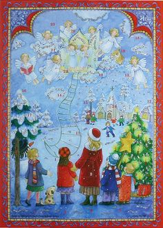 Christmas Advent calendar from Germany