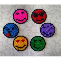 Smiley hama beads by  gulcanin_hobi_dunyasi