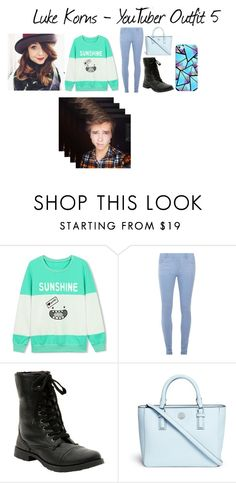 """""""Luke Korns - YouTuber Outfit 5"""" by kjkb ❤ liked on Polyvore featuring Dorothy Perkins, Tory Burch and Casetify"""