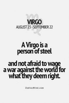 Zodiac Mind - Your source for Zodiac Facts Virgo Star Sign, Zodiac Signs Virgo, Zodiac Mind, Zodiac Quotes, Zodiac Facts, Leo Virgo Cusp, Virgo Girl, Virgo Love, Virgo Quotes Love