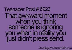 this happens aaalllll the time!