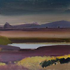 Landscape Artwork, Art Boards, Art Projects, Landscapes, Collage, Mountains, Acrylics, Scotland, Travel