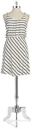 ShopStyle Collective, Design Lab Lord & Taylor Striped Dress, $88