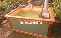 Cheap homemade DIY Wood Fired Hot Tub just going to share on solar board Jacuzzi, Outdoor Projects, Home Projects, Outdoor Living, Outdoor Decor, Tiny Homes, Firewood, Backyard, Building Materials