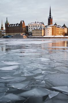 Winter in Stockholm view on Riddarholmen The Places Youll Go, Places To Go, Saint Marin, Mall Of America, North America, Kingdom Of Sweden, Stockholm Sweden, Stockholm Winter, Scandinavian Countries