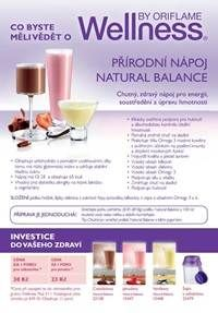 Leták Co byste měli vědět o Wellness | Oriflame cosmetics