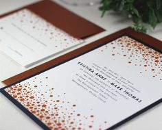 Printable Wedding Invitations Modern Wedding by EdenWeddingStudio, $45.00